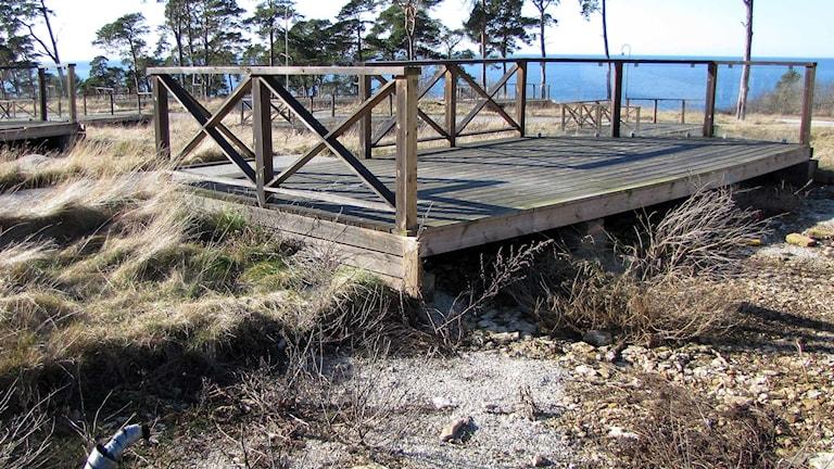 Snäcks Camping. Foto: Gunnel Wallin/Sveriges Radio