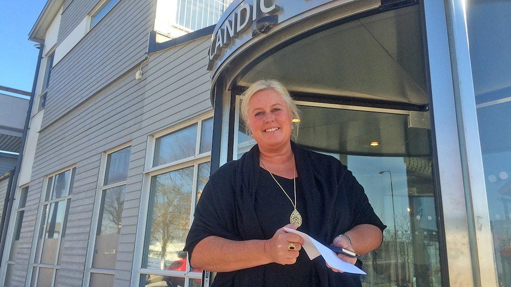 Carina Hammander. Foto: Ulrika Uusitalo Fernholm/Sveriges Radio