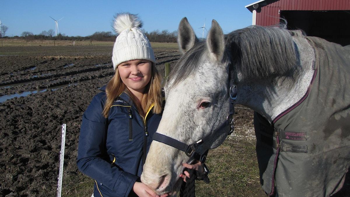 Caroline Strömberg. Foto: Mari Winarve/Sveriges Radio