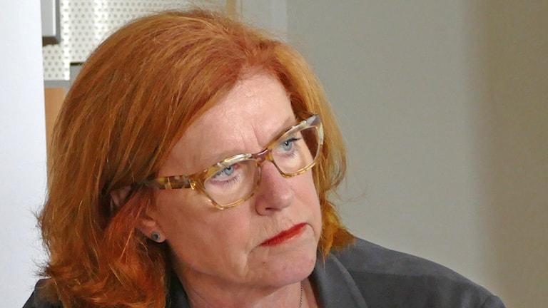Cecilia Schelin Seidegård. Foto: Stefan Leoson/Sveriges Radio