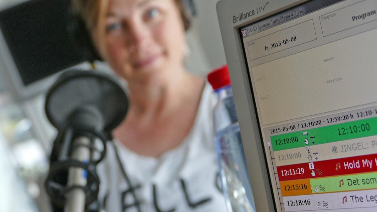 Spellistan. Foto: Mika Koskelainen/Sveriges Radio