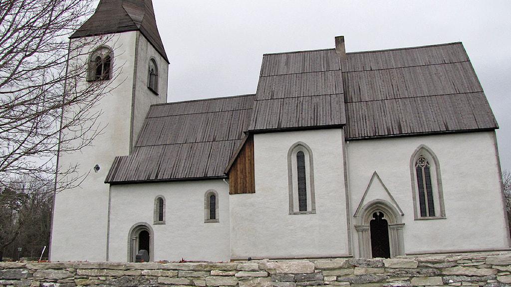 Vallstena kyrka. Foto: Karin Persson/Sveriges Radio