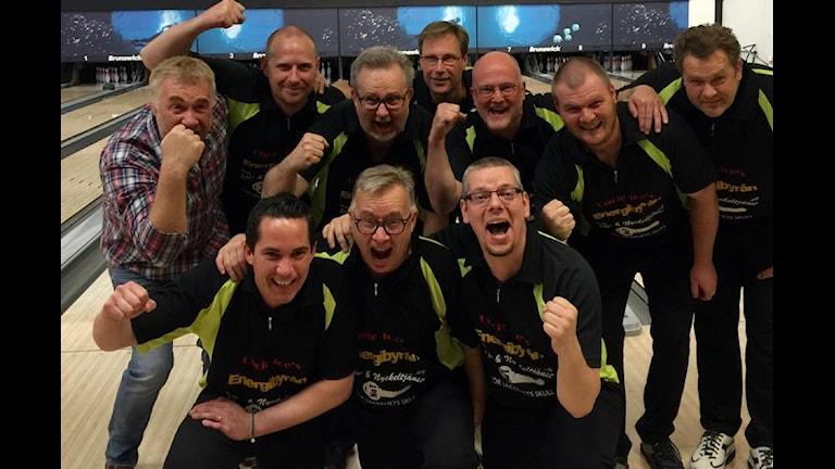 Bowlingklubben IK Pärlan är tillbaka Allsvenskan efter att ha besegrat Team Mariestad. Foto: Henrik Johansson