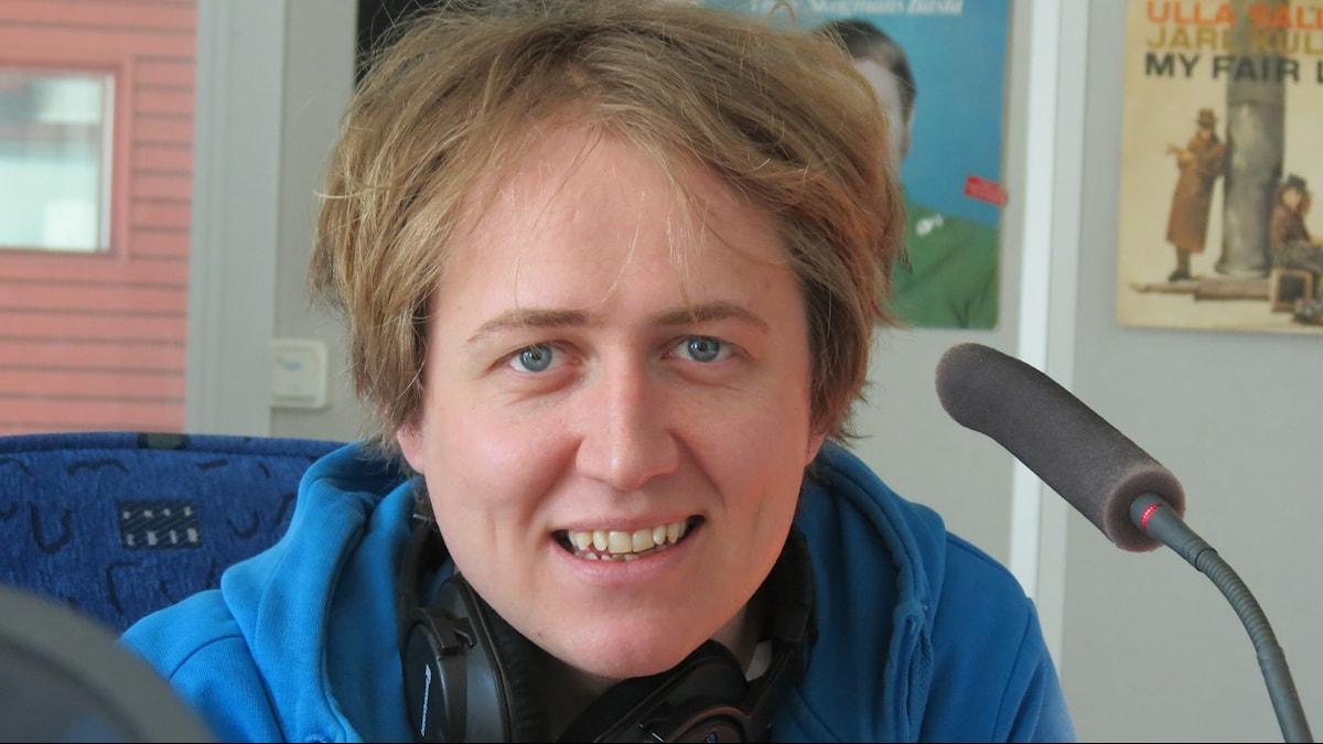 Johannes Hallbom. Foto: Lasse Eskelind/Sveriges Radio