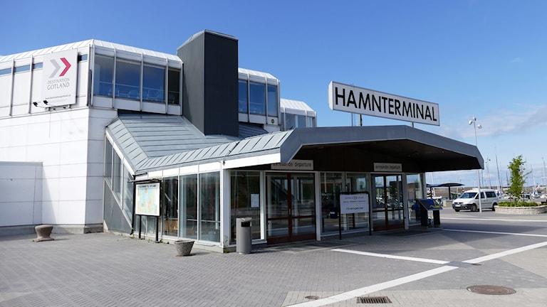 Hamnterminal. Foto: Jonas Neuman/Sveriges Radio