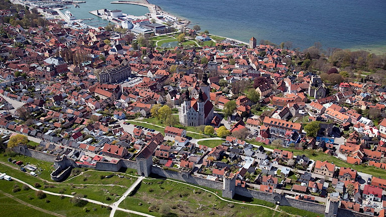 Visby innerstad.