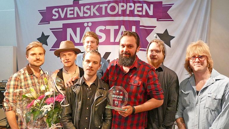 Sons of Bourbon. Foto: Mika Koskelainen/Sveriges Radio