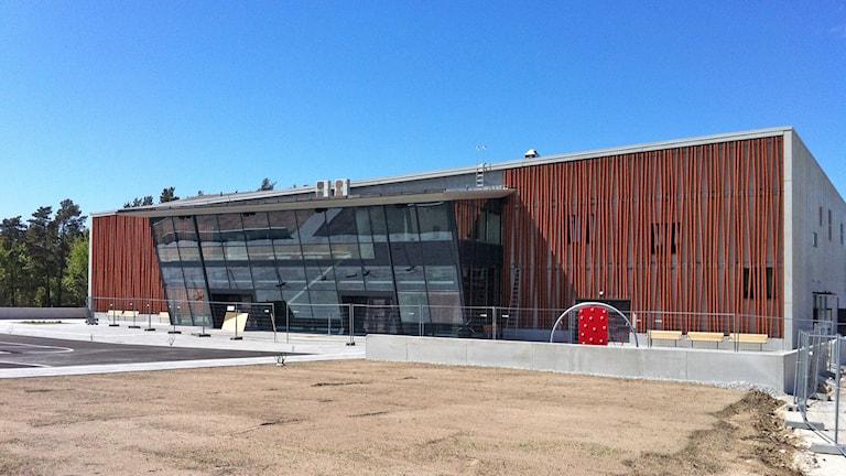 Sporthallen i Visby. Foto: Daniel Värjö/Sveriges Radio