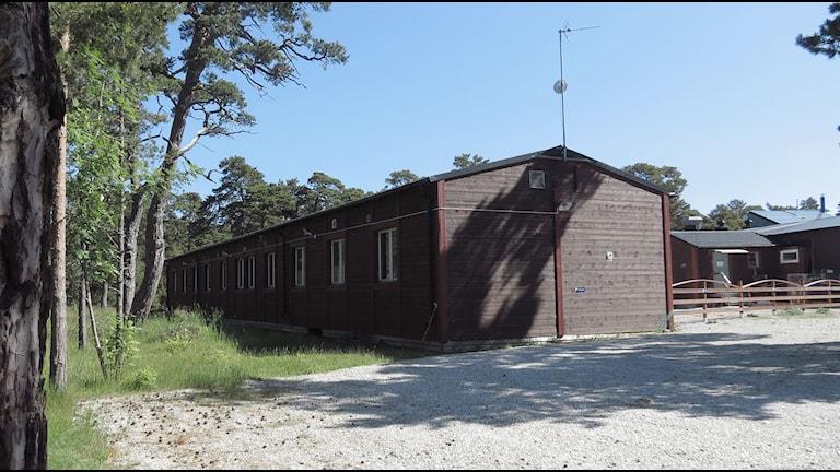 Asylboende i Rävhagen. Foto: Gunnel Wallin/Sveriges Radio Gotland