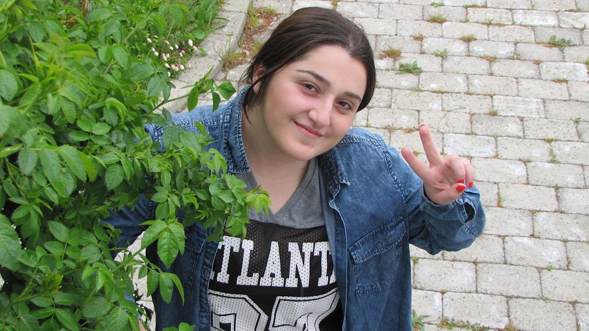 Mariam Choupuryan. Foto: Mari Winarve/Sveriges Radio