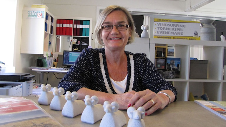 Helene Viotti turistföretagare i Visby
