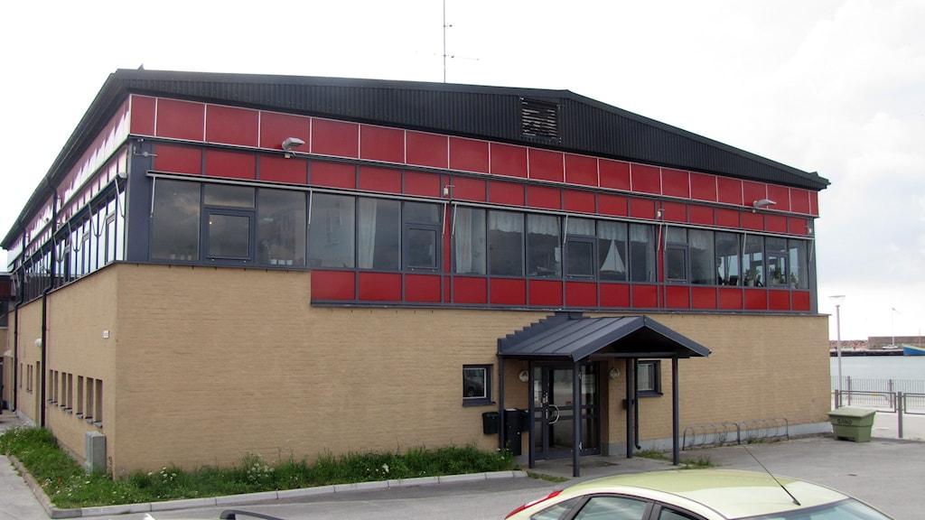 Gamla hamnterminalen i Visby. Foto: Johan Hellström/Sveriges Radio