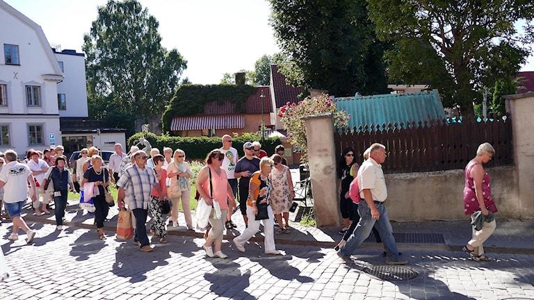 Turister. Foto: Jonas Neuman/Sveriges Radio
