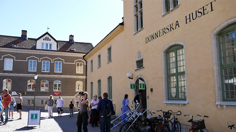 Turistbyrån. Foto: Jonas Neuman/Sveriges Radio