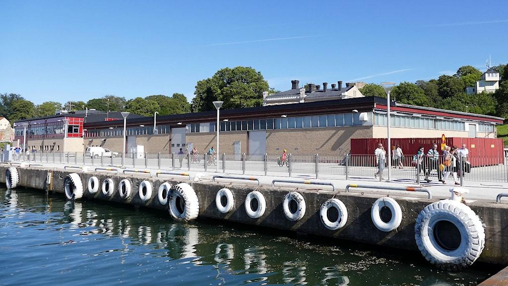Gamla hamterminalen. Foto: Jonas Neuman/Sveriges Radio