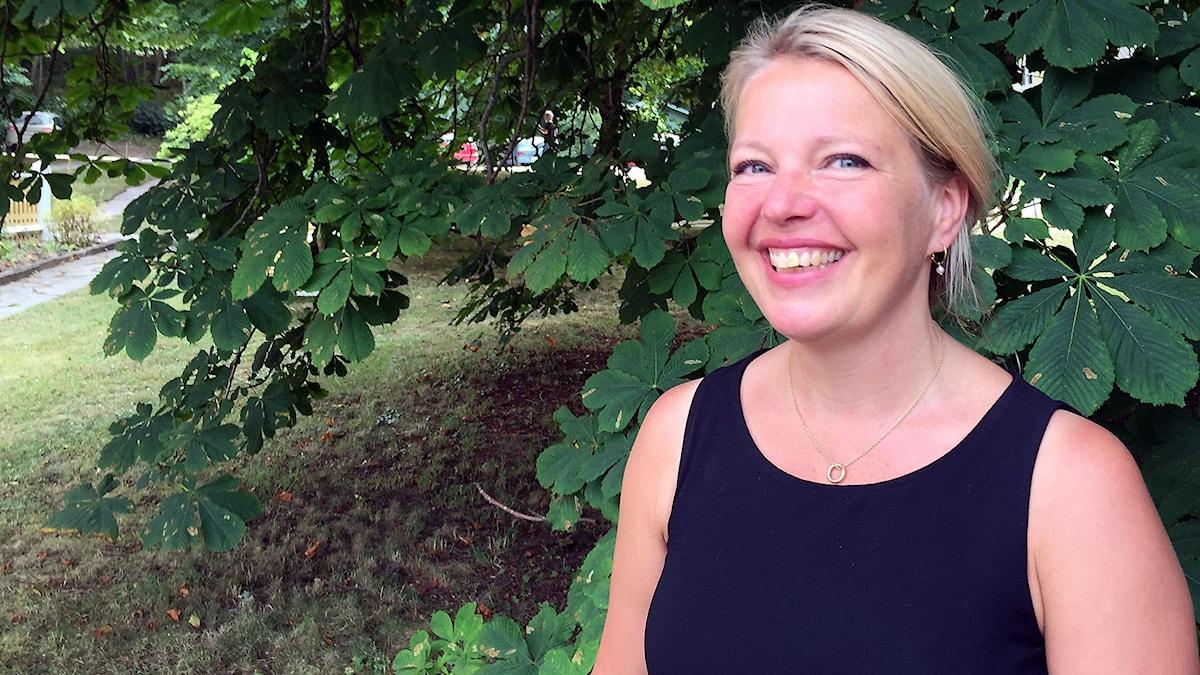 Ulrika Mebus. Foto: Anton Kalm/Sveriges Radio