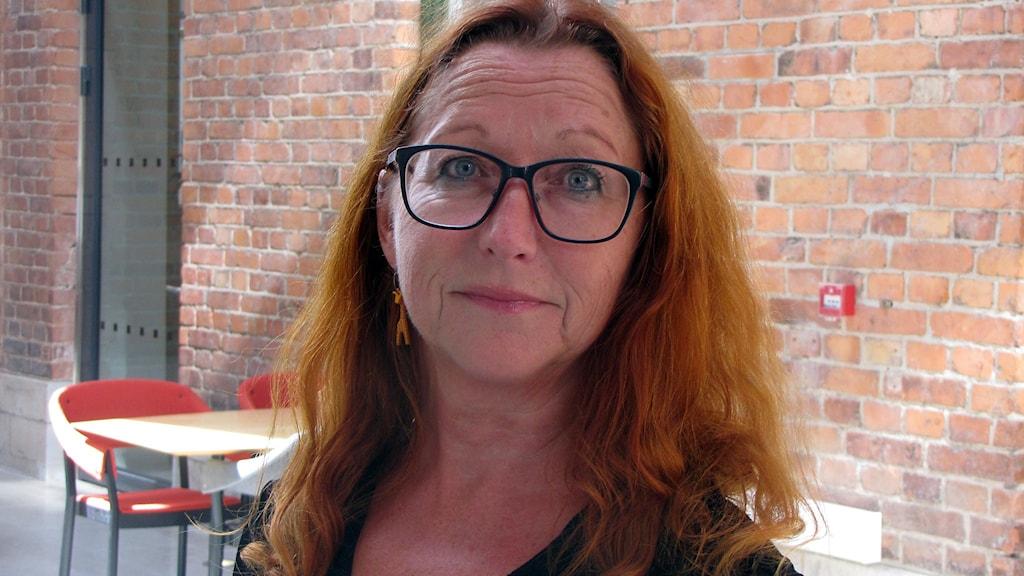 Maria Björkman (S). Foto: Jonas Neuman/Sveriges Radio