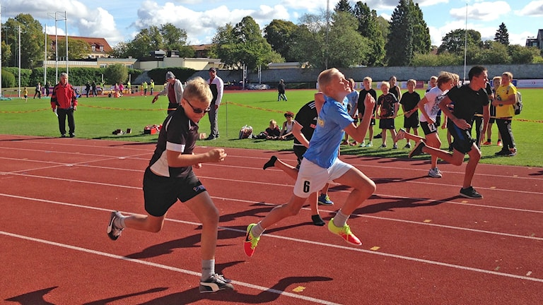 Löpning. Foto: Jack Lantz/Sveriges Radio