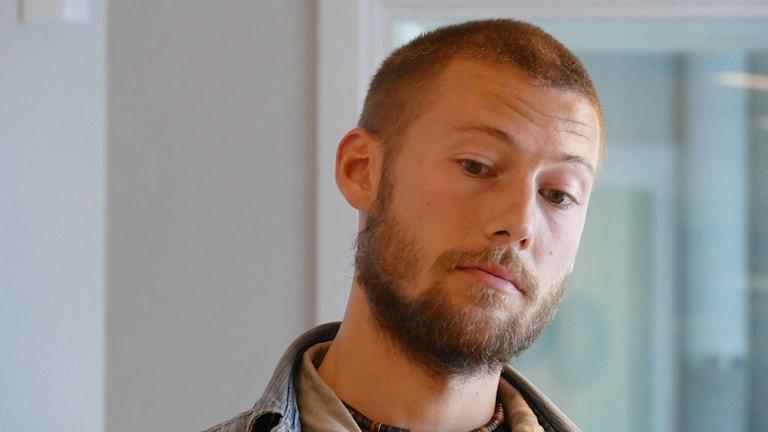 Emanuel Wäsström. Foto: Lasse Eskelind/Sveriges Radio