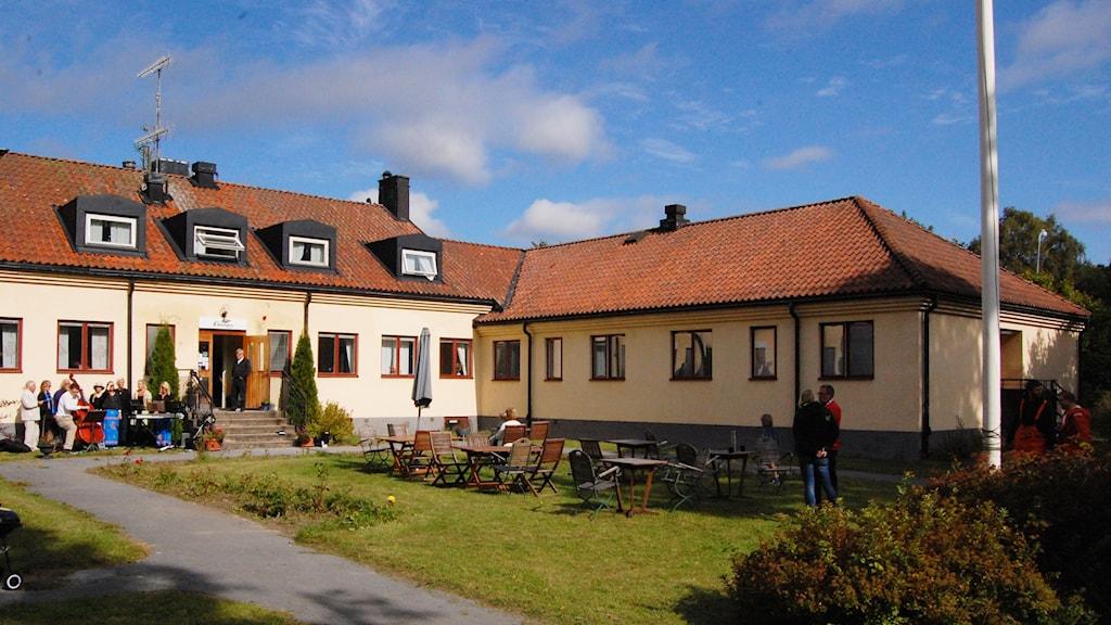 Pensionat Ekängen i Garda kan bli asylboende. Foto: Jack Lantz/Sveriges Radio