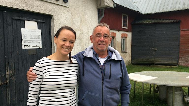 Det var här Jan Nilsson fick hjärtattack första maj. Som tur fanns hans dotter Linda Todd på plats. Foto: Hanna Sihlman/SR