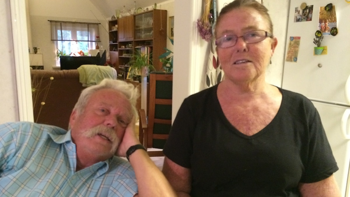 Owe och Inga Magnusson. Foto: Mari Winarve/Sveriges Radio