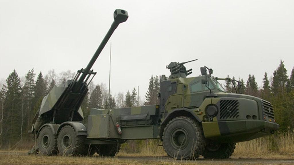 Artilleripjäs av typ Archer från BAE Systems Bofors. Foto: BAE Systems Bofors