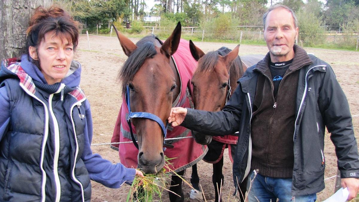 Jonna och Jan-Åke Hoas. Foto: Mari Winarve/Sveriges Radio