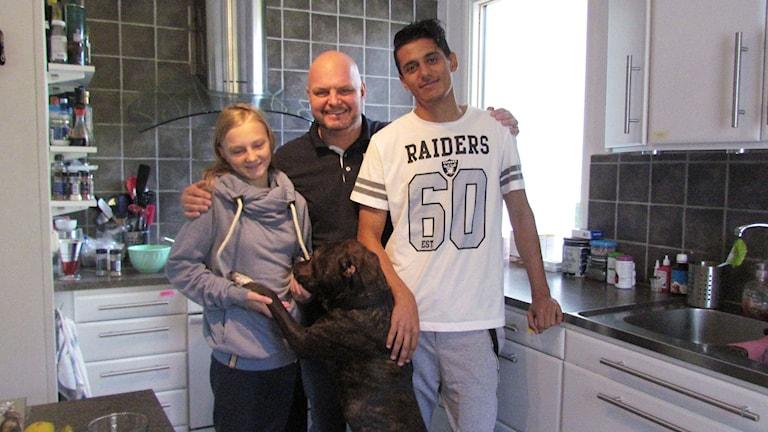 Ali kom som flykting till familjen Olsson. Foto: Jack Lantz/Sveriges Radio