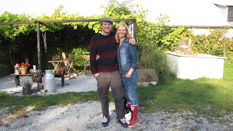 Emma Ahlström och Martin Hultman flyttade från Limhamn och startade Prima Gård på Gotland