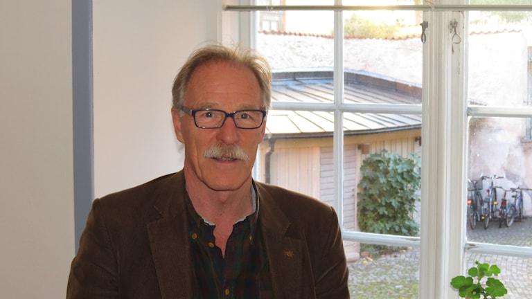 Lars Sjösvärd, chef på Gotlands museum