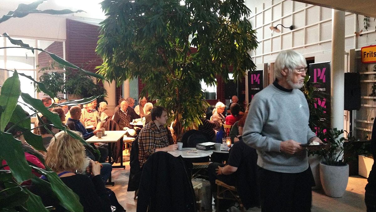 Maris Café från Radiohuset i Visby