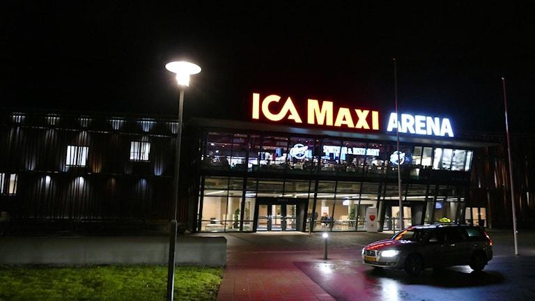 Ica Maxi arena i Visby. Foto: Emmy Johansson/Sveriges Radio