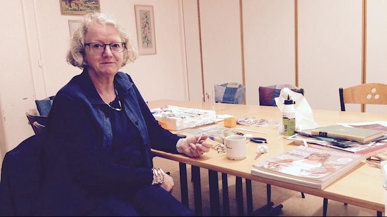 Elisabeth Molin. Foto: Jack Lantz/Sveriges Radio