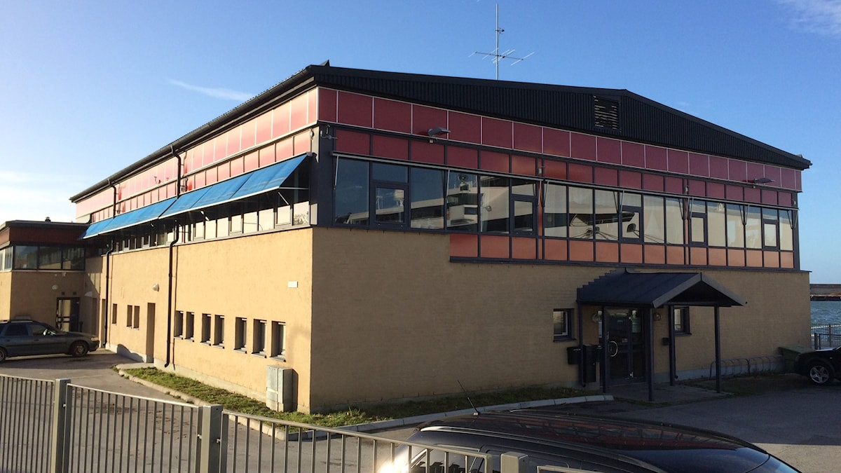 Gamla hamnterminalen i Visby. Foto: Daniel Värjö/Sveriges Radio