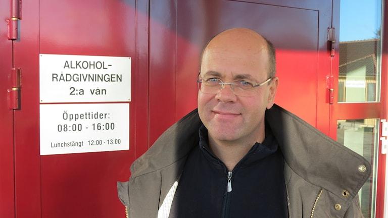 Ragnar  Östermark. Foto: Johan Hellström/Sveriges Radio