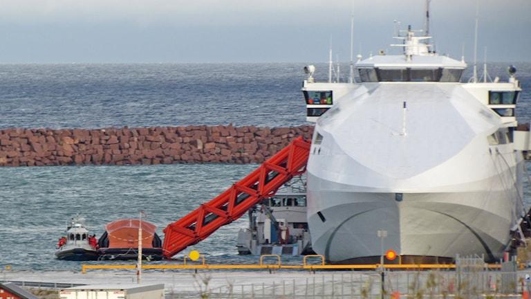 Sjöräddningsövning Destination Gotland