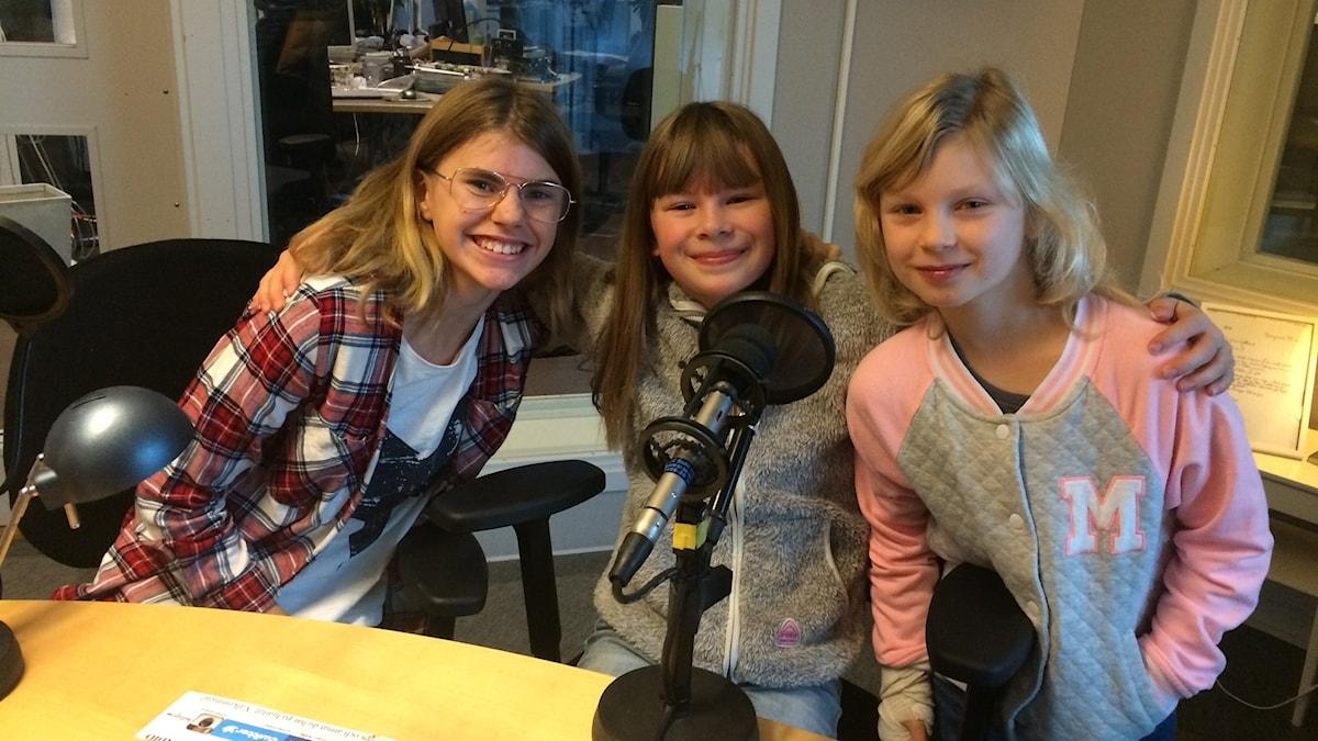 Nike Bendelin, Maja Lundquist och Hedda Al