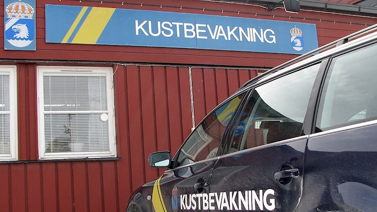 Kustbevakningen i Slite. Foto: Catarina Gustafsson/Sveriges Radio