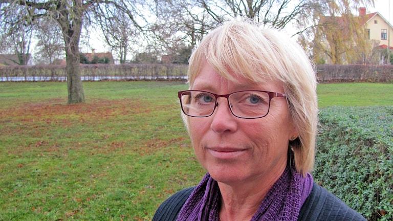 Eva Nypelius. Foto: Mika Koskelainen/Sveriges Radio