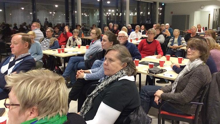 Gode män får utbildning på Visborg. Foto: Gunnel Wallin/ Sveriges Radio Gotland