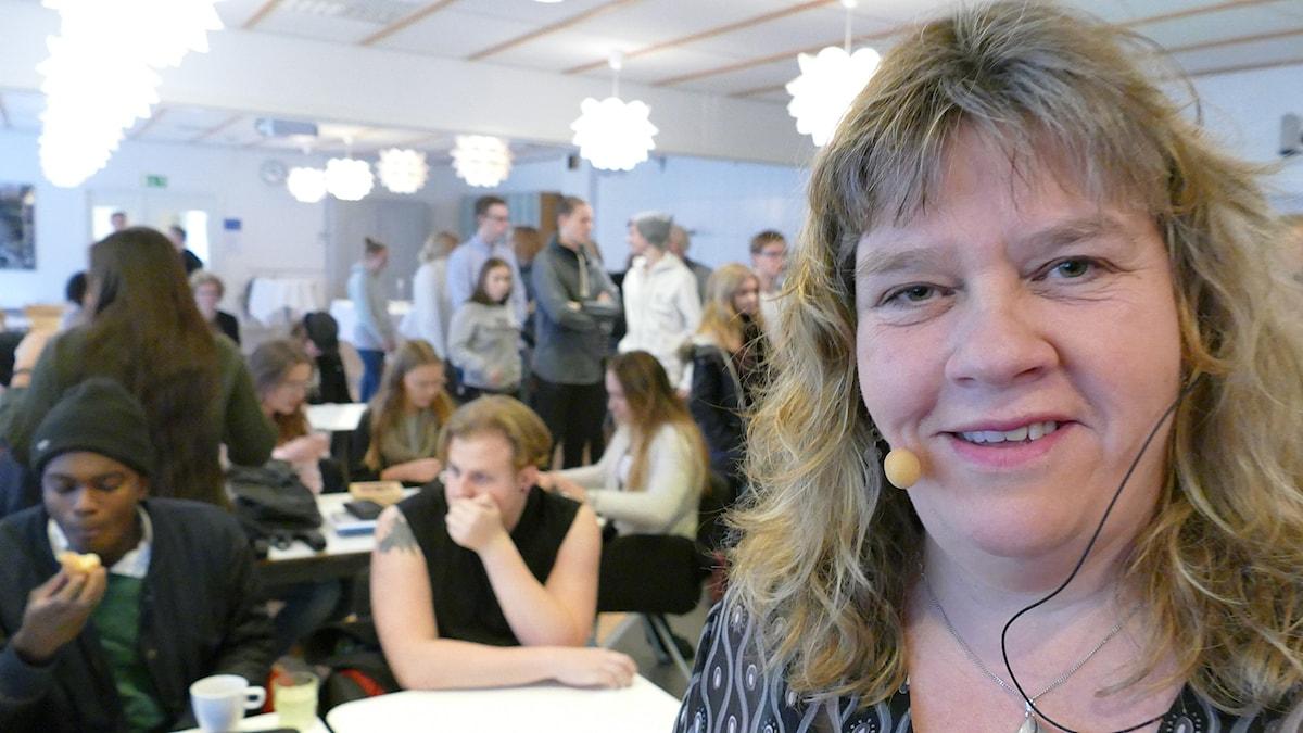 Mari Winarve. Foto: Mika Koskelainen/Sveriges Radio