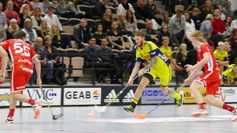 Jon Lindgren i Visby IBK