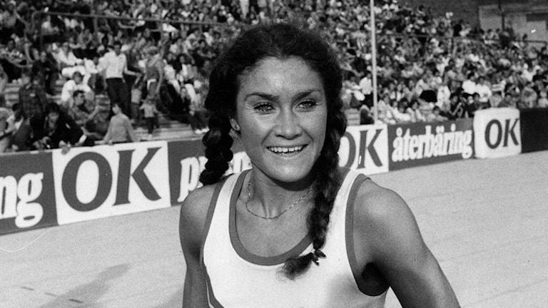 Linda Haglund. Foto: Gunnar Lundmark/TT