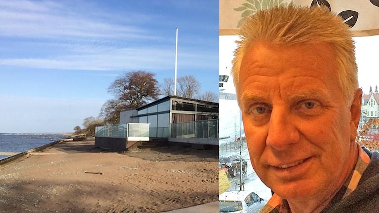 Strandrestaurangen Norderstrand Pigge Werkelin. Foto: Daniel Värjö/Sveriges Radio