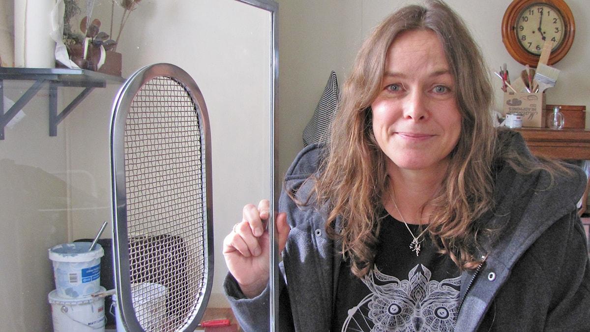 Cenita Hallgren. Foto: Mari Winarve/Sveriges Radio