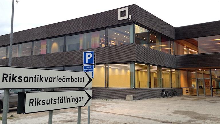 Riksantikvarieämbetet och Riksutställningar i Visby. Foto: Katarina Hedström Sveriges Radio Gotland