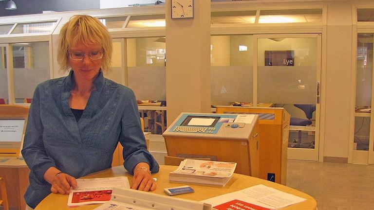 Tina Ersson. Arkivfoto: Jens Andersson/Sveriges Radio