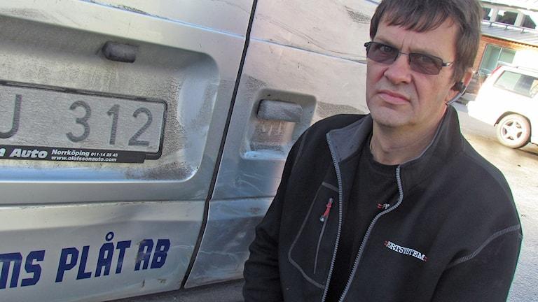 Gunnar Levander. Foto: Mika Koskelainen/Sveriges Radio