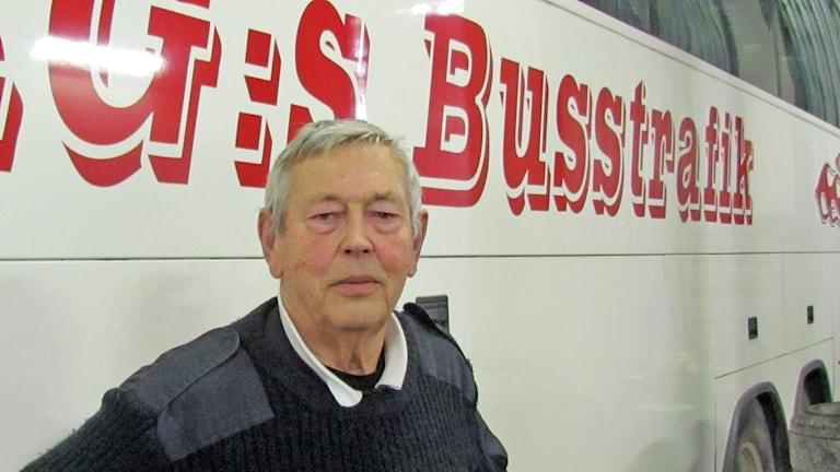 Karl Gösta Olsson. Foto: Katarina Hedström/sveriges Radio